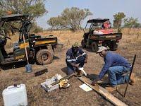 Gunbalnanya meatworks effluent disposal area testing